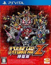 USED PS VITA Super Robot Wars Taisen Z 3rd Jikoku-Hen FREE SHIPPING JPN