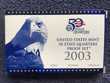 2003 Us Mint Washington / 50 State Quarters S Proof Set