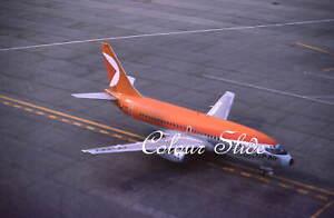 CP Air Boeing 737-217 CF-CPZ, Toronto, 9.78, Colour Slide, Aviation Aircraft