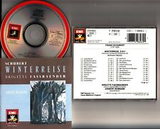 EMI WG SONOPRESS- Schubert: Winterreise FASSBAENDER/Aribert Reimann CD 1990