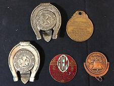 Anniversary Token Coins (5) Money Clip Herbert Mills Fort Augusta Kay Jewelry Co