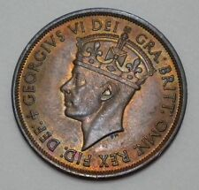 1945 States of Jersey Great Britain 1/12 Shilling Km#19 George V. * Gem Unc