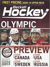 March 2010 Beckett Hockey Price Guide  #216 Crosby Ovechkin Malkin Kane Olympic