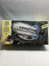 GoodYear Blimp Vintage Radio Control RC Wired toy with original box