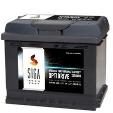 SIGA Autobatterie 50Ah 12V extrem Leistungsstark 480A/EN ersetzt 44Ah 45Ah 52Ah