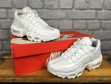 NIKE LADIES UK 5 EU 38.5 WHITE AIR MAX 95 OG PATENT LEATHER TRAINERS RRP £120