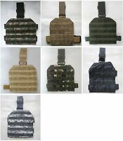 New Molle Drop Leg Panel 6 Colors--Airsoft Game