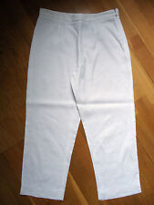 TARA JARMON Pantacourt lin blanc T36/38