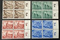 Germany. German Reich. Leipzig Fair with Tabs. SG727/30. 1940. MNH. #SC39