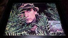 Joe Walsh There Goes The Neighborhood Rare Original Promo Poster Ad Framed!