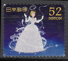 Japan gestempelt 52y Märchen Prinzessin Zeichentrick Kleid Disney / 1542