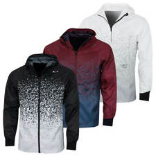 Oakley Mens Enhance Wind Graphic 9.0 Stretch Lightweight Jacket 43% Off Rrp
