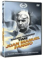 RACING THROUGH TIME - JUAN MANUEL FANGIO F1 Grand Prix champ. up to 1958 NEW DVD
