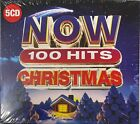 Various -  NOW 100 Hits Christmas (5CD) New Sealed