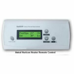 Hurlcon Remote Heater Thermostat Touchpad Controller - Astralpool
