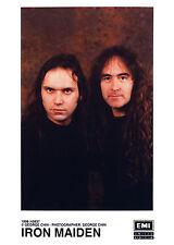 Iron Maiden-promo press photo 1996-NWOBHM-STEVE HARRIS-Blaze Bayley