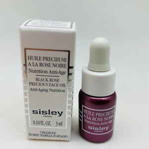 SISLEY BLACK ROSE PRECIOUS FACE OIL ANTI-AGING NUTRITION - 0.10oz - NIB *SAMPLE