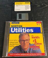 Vintage Apple Classic Mac OS Norton Utilities version 3.5 CD