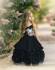 Dollcake A Thousand Words Frill Dress Black Size 7 NWT STUNNING