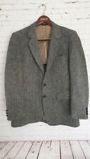 Churchill  Harris Tweed Jacket Size 40 Grey  Men`s Great Condition