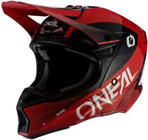 O'Neal 0630-033 10 Series Core Unisex-Adult Off-Road Racing Helmet (Red/Black M)