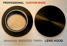 PRO ⌀52mm/ CUSTOM MADE Aluminum Anodized Lens Hood with Cap/ NEW