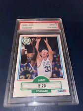 LARRY BIRD 1990 FLEER  BASKETBALL CARD PSA 9 MINT