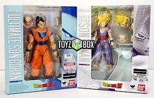 "S.H. Figuarts ""Ultimate + Super Saiyan Son Gohan"" Dragonball Z Action Figure"
