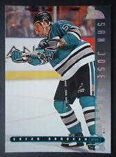 NHL 47 Shean Donovan San Jose Sharks Donruss Leaf 1995/96