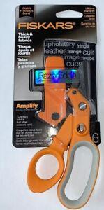 """Fiskars Amplify RazorEdge 6"""" Thick & Heavy Fabric Shears 170610-1002"""