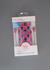New! FashioNation Hard shell Case & Earbuds Combo for Apple iPod Touch 4th Gen