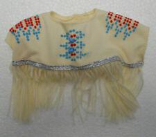 Barbie Dotw Fringed Top Native American Indian Pocahontas World Dolls Diorama