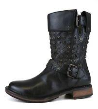 UGG Australia Conor Studs Leather Boot Black Women Sz 6 5479