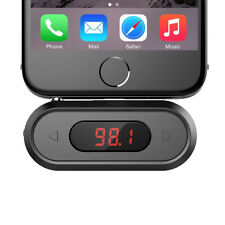 Doosl 3.5mm FM Transmitter Wireless Audio Radio Adapter Car Kit  for iPhone 6 6S