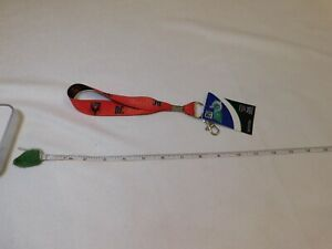 D.C. United MLS Major League Soccer lanyard wrist strap key chain ring keychain
