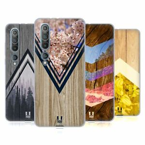 HEAD CASE DESIGNS NATURE WOOD PRINTS SOFT GEL CASE & WALLPAPER FOR XIAOMI PHONES