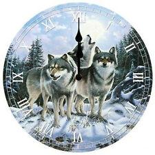 Clock Midnight Watcher