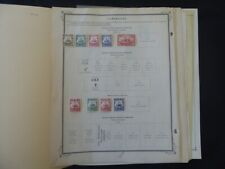 Cameroun 1906-1940 Stamp Collection on Scott Int Album Pages
