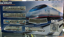 BACHMANN SPECTRUM HO ACELA EXPRESS DCC ON BOARD TRAIN SET passenger 01204 NEW