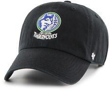 Minnesota Timberwolves 47 Brand NBA Strapback Adjustable Dad Cap Hat Clean Up