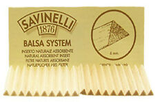 SAVINELLI 6mm BALSA PIPE FILTERS - 3 Packs/20each