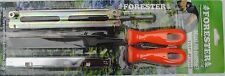 """Chain Saw Sharpening Kit for 11/64"""" chainsaws  Files,Two Handles,Depth Gauge"""