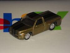 Johnny Lightning 1 Loose Vehicle   Dodge RAM 1500 Pickup  Mtflk Dark Gold
