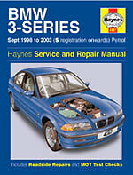 Bmw 3 Series E46 316 318 320 325 328 1998-2003 Haynes Manual 4067.