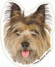 Cairn Terrier Dog Head Car Magnet