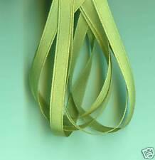 *** L/MOSS GREEN- Satin Ribbon - 6 mm Wide - 2 MTR ***