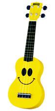 Mahalo Smiley Face Soprano Ukulele U60sm New W/ Gig Bag W/ Aquila Nylgut Strings