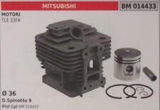 CILINDRO PISTONE COMPLETO DECESPUGLIATORE MOTORE MITSUBISHI TLE 33 FA Ø 36