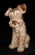 VINTAGE SYLVAC ENGLAND TERRIER DOG, EXCELLENT