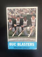 """1963 TOPPS #18 ROBERTO CLEMENTE """"BUC BLASTERS""""— POPULAR ISSUE💥*** (wph)"""